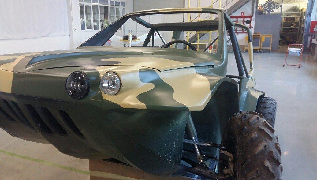 Российский автомобиль-амфибию покажут на выставке МАКС-2017