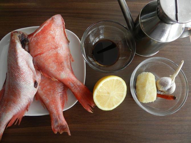 Рецепт приготовления окуня морского красного