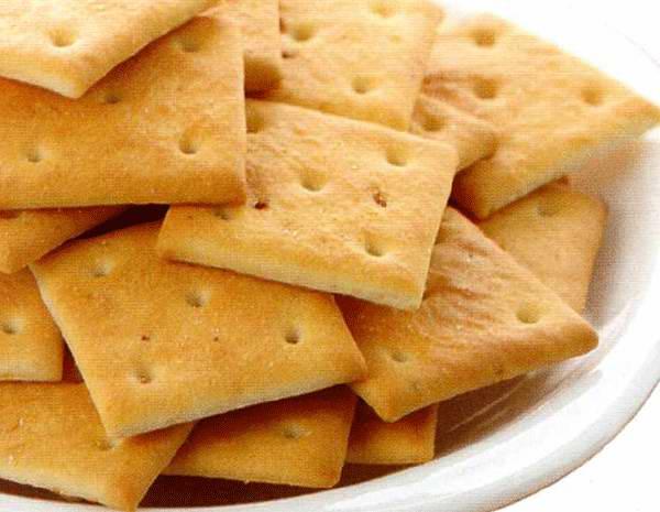 [Как приготовить в домашних условиях печенье крекер
