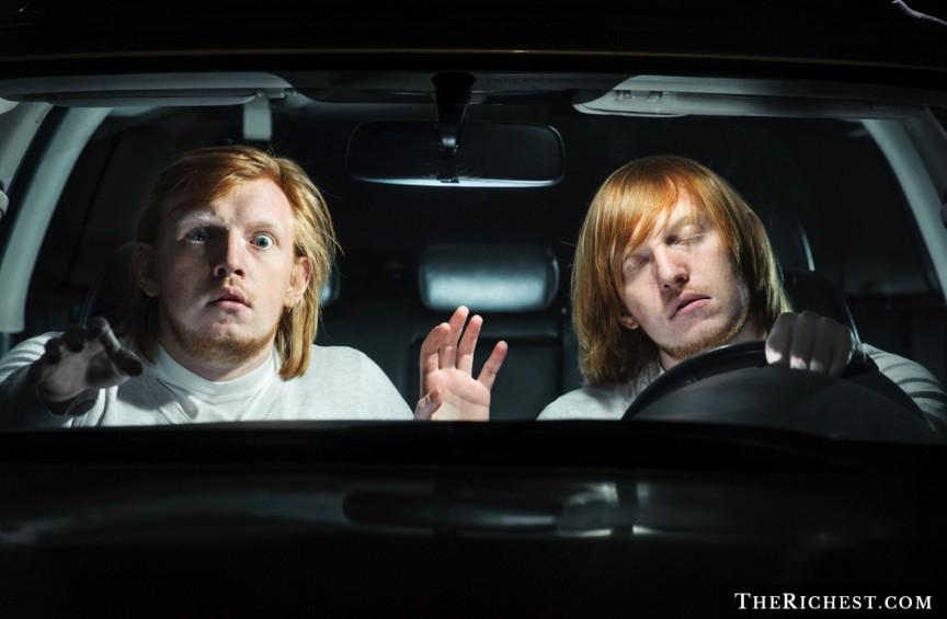 Вождение машины во сне люди, сон