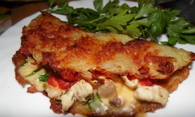 Рецепт драников из картошки с начинкой пошагово