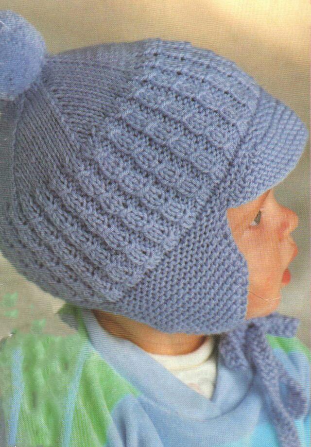 Вязание шапок для мальчика видео 12