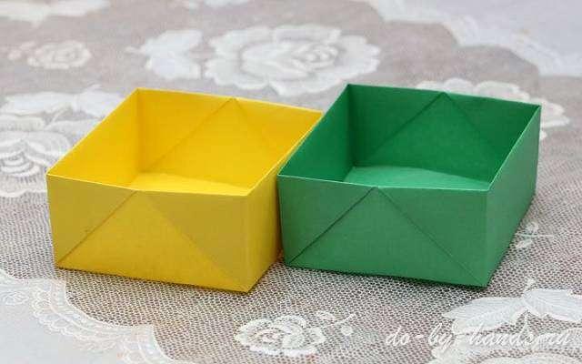 Как сделать коробку своими руками из бумаги для детей