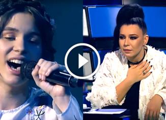 Софья Волошаненко — 14-летняя юная певица - «Нiч яка мiсячна»