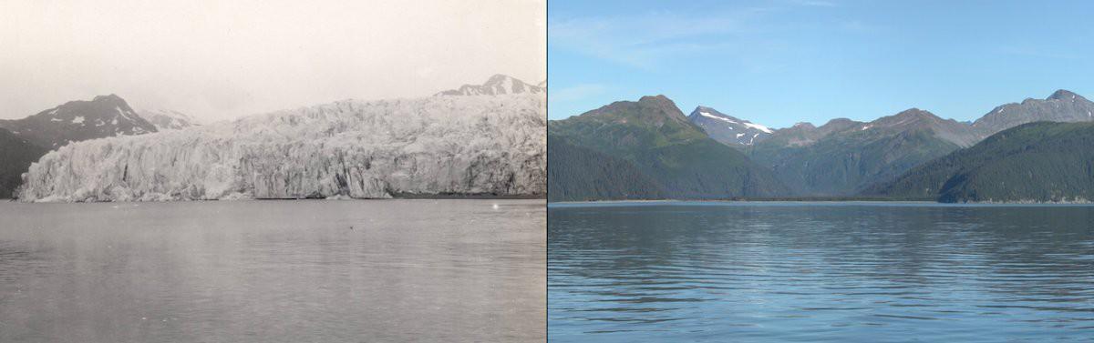 Ледник Маккарти, Аляска история, факты