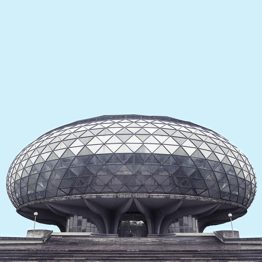 I Found Architecture From Star Wars In Belgrade