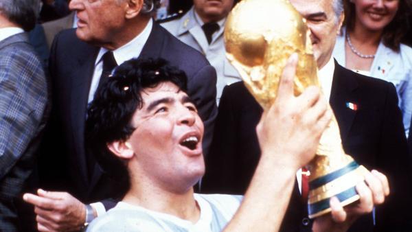 Футбольные легенды: Диего Ма…