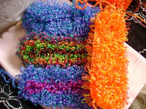 Сколько стоит мочалка вязанная