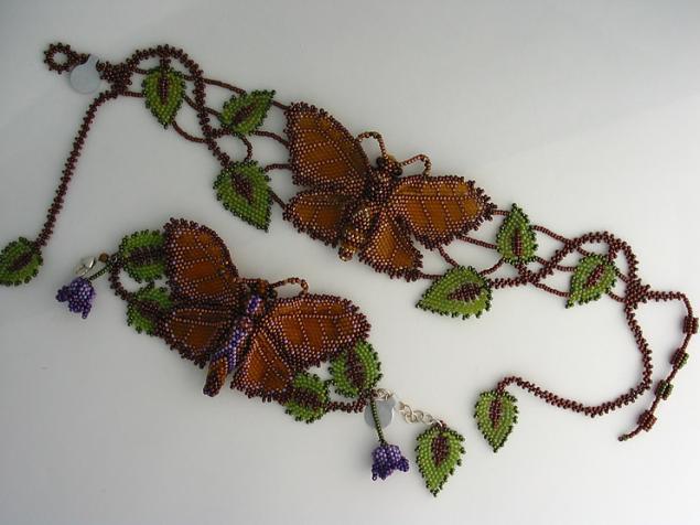 Цветы и бабочки Хьюба Петерсена