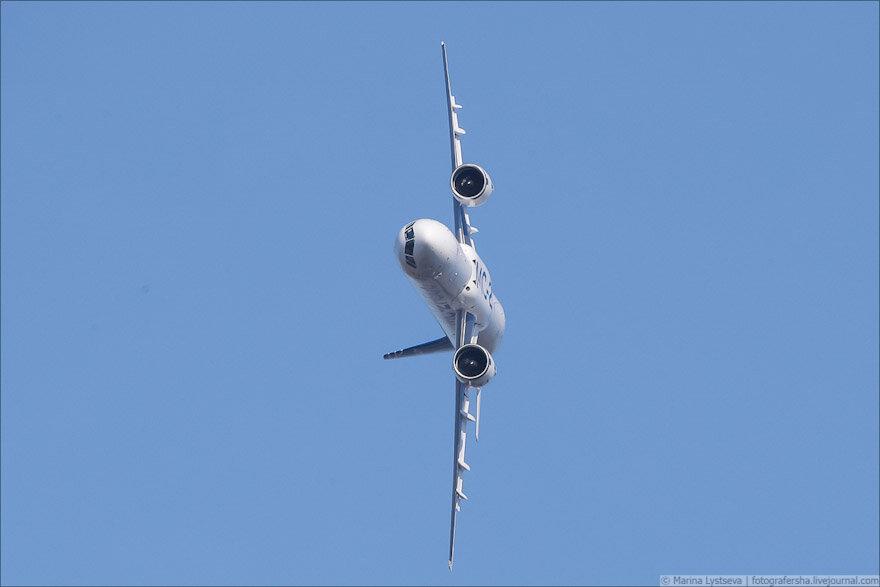 А Boeing так может? МС-21 выполнил крен в 90° (видео)