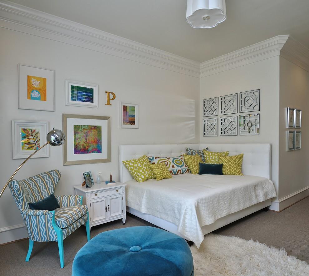 Дизайн комнаты с углом
