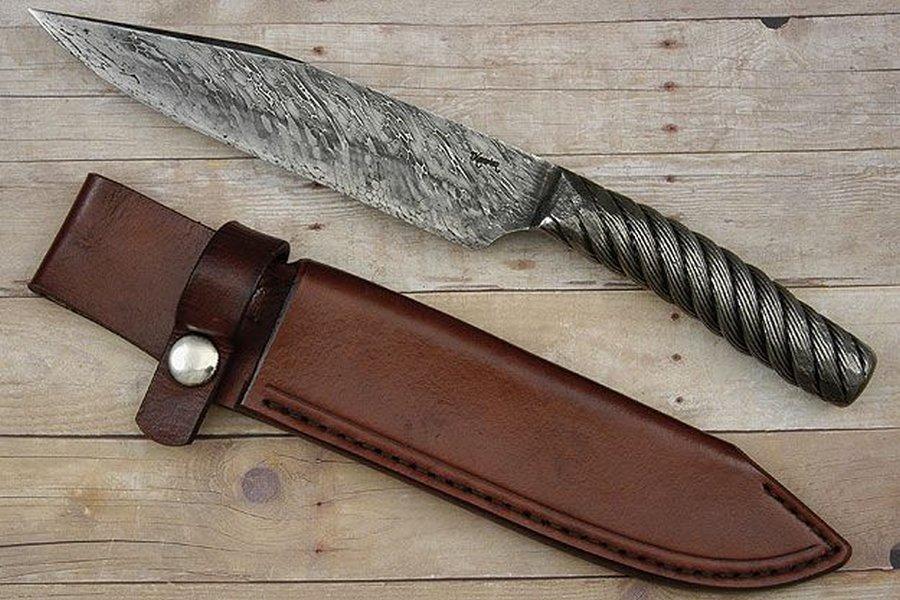 Из чего сделать нож своими руками в домашних условиях