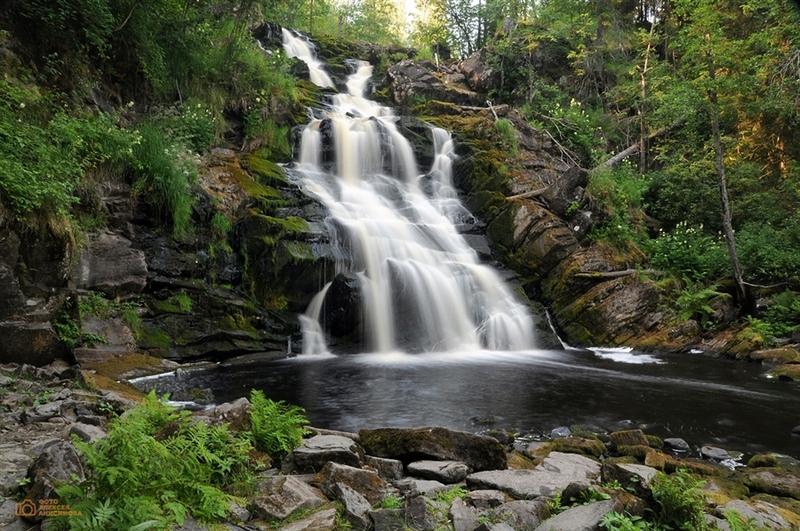 Самые красивые водопады Ленобласти и Карелии