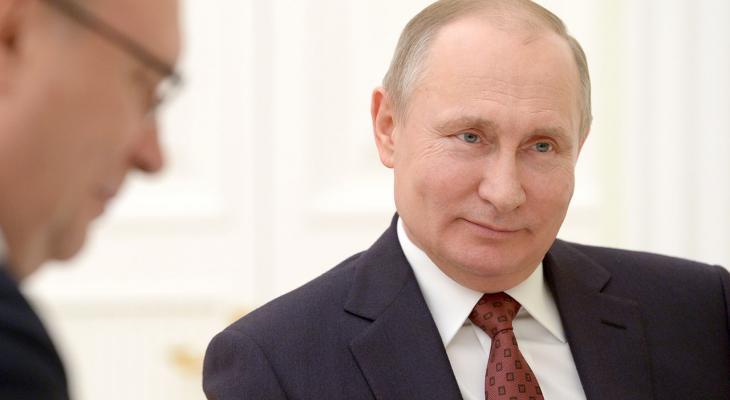 В. Путин, президент РФ