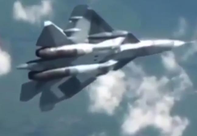 Российский истребитель-невидимка 5-го поколения (видео)