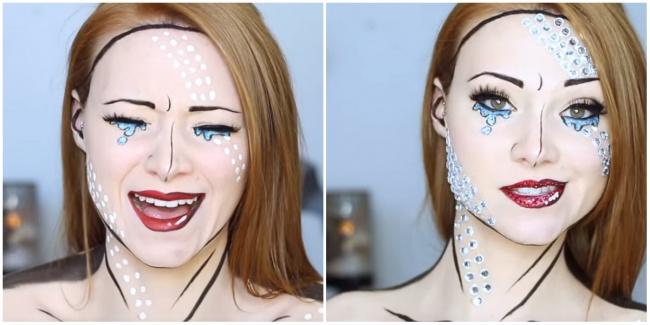 5 умопомрачительных идей для макияжа на Хеллоуин