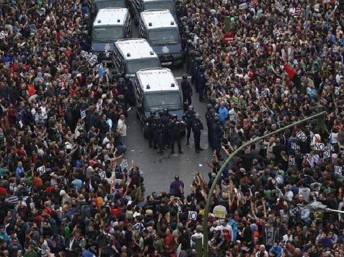 Евросоюз протестами полнится