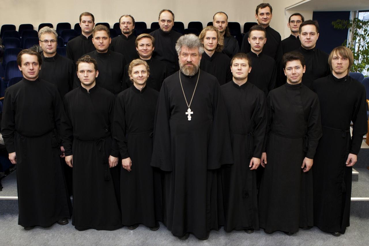 Концерт московского мужского хора иеромонаха Амвросия