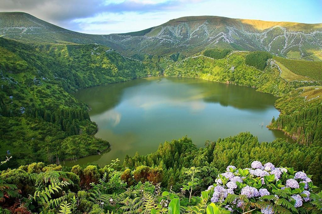 Lagoa Funda красота, озера, природа