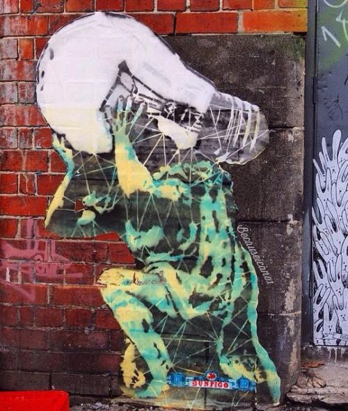 3. Мельбурн, Австралия граффити, стрит-арт, художники