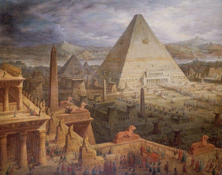 Древнеегипетские заблуждения