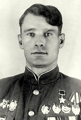 Герой Советского Союза   Новиков Константин Афанасьевич