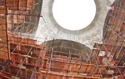 На юго-западе столицы завершается строительство нового храма