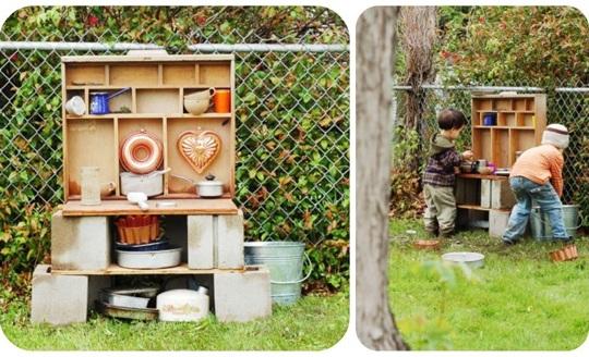 идей детских игр на свежем воздухе сделанных своими руками!