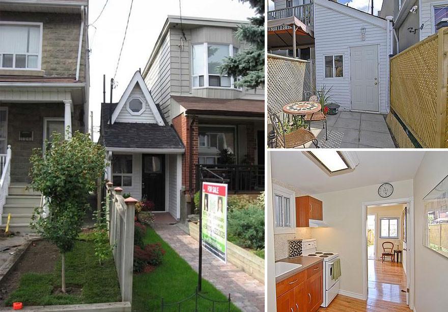 21. Крошечный домик в Торонто  вместительность, дом, размер