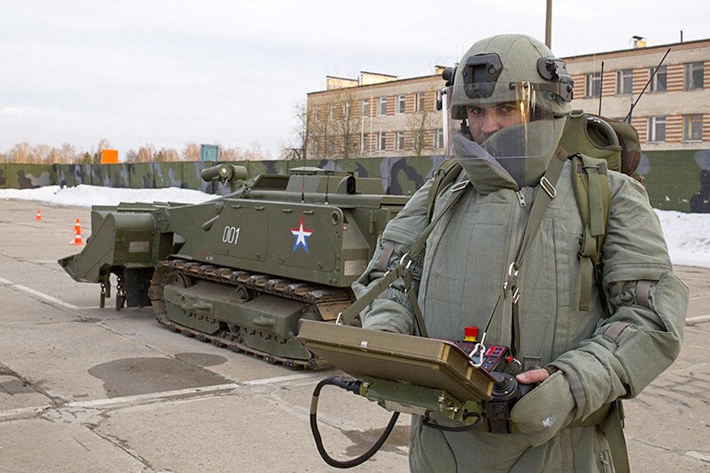 """Войска оснастят роботами-саперами """"Уран-6"""""""
