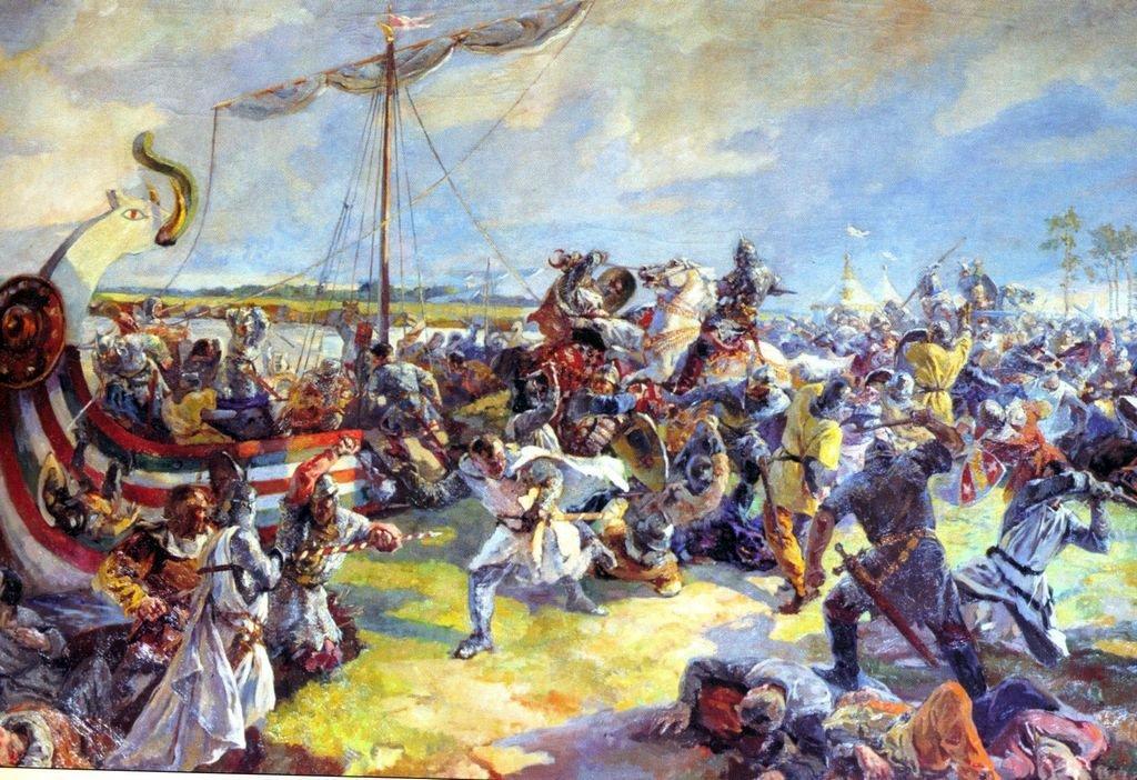 Русские князья в крестовых походах.