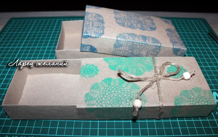 Коробка для пончиков своими руками 10