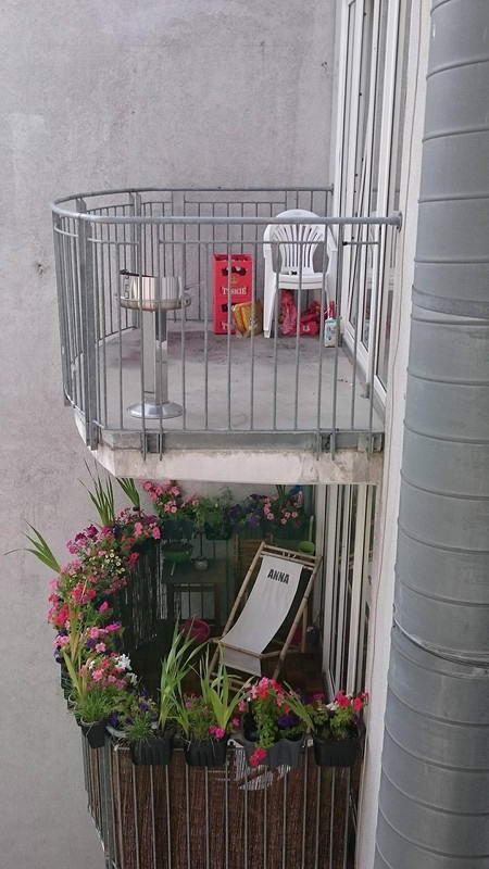 3. Это явно балкон девушки балкон, дизайн, креатив