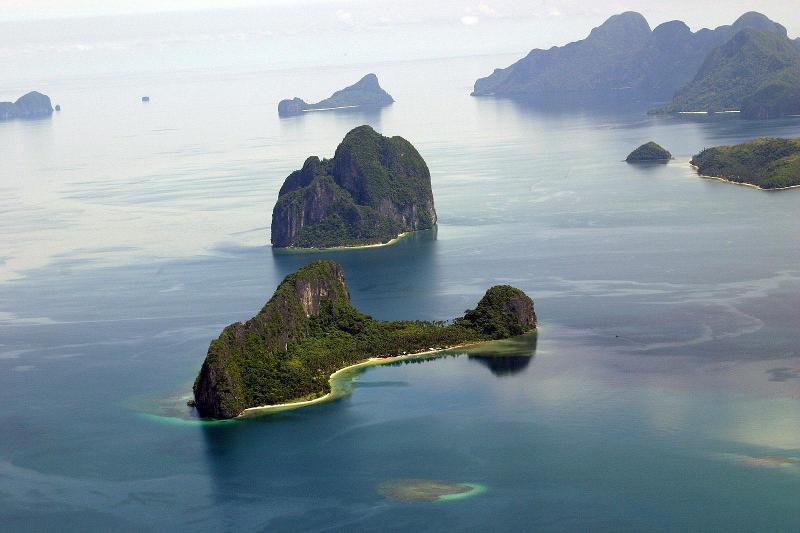 11. Остров в виде вертолёта, Филиппины в мире, остров