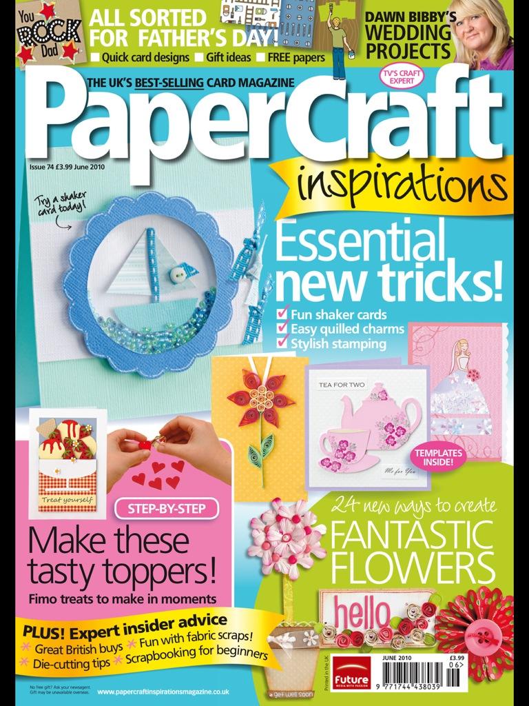 PaperCraft Inspirations 06 (74) 2010 (открытки)