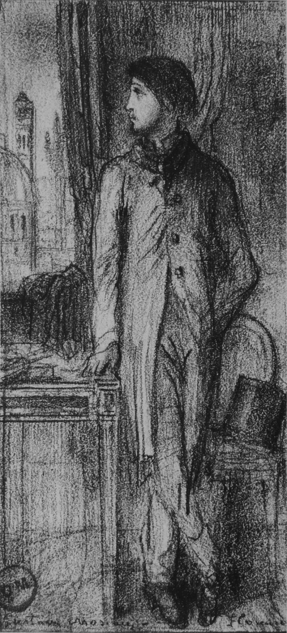 Портрет Дега во Флоренции - Гюстав Моро