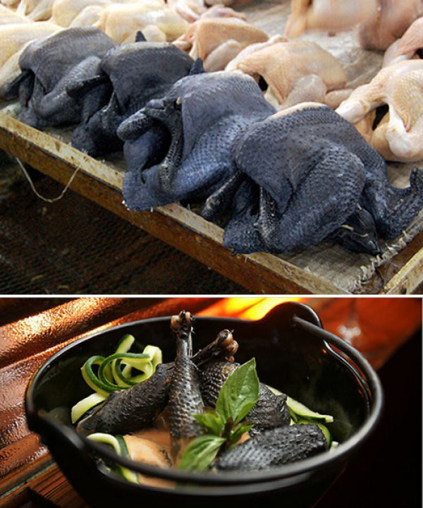 Чернокожая курица. И НЕТ - это не только для негров. еда, продукты