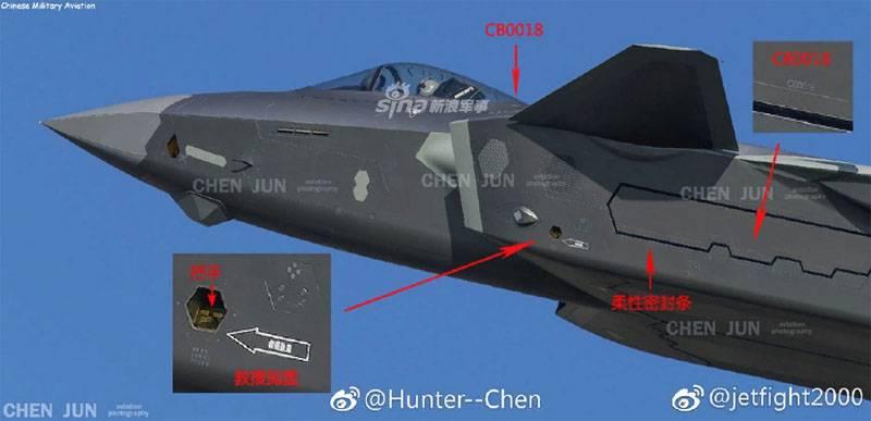Бортовой номер китайского J-20 поставил экспертов в тупик