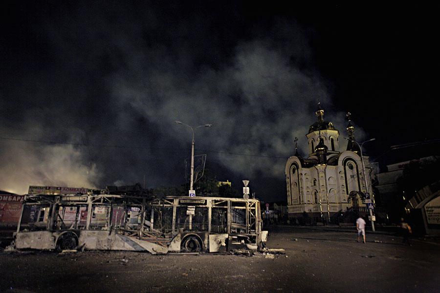Донбасс в августе 14-го