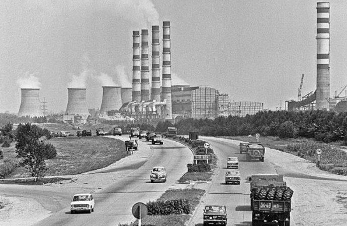 1. МКАД 20 века до и после, дороги, интересно, история, столица, тогда и сейчас, фото москвы