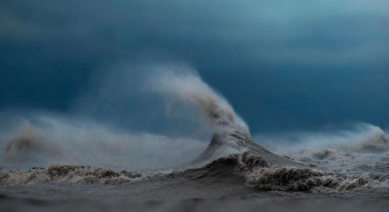 Ноябрьская ведьма  озеро, фотосессия, эри