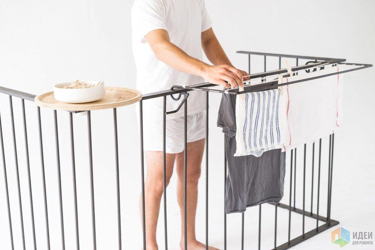Функциональные аксессуары для маленьких балконов