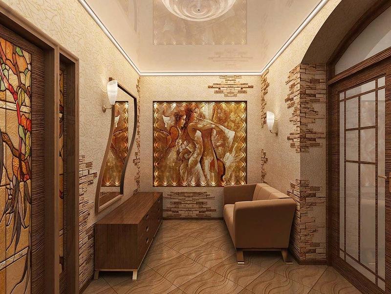 Дизайн прихожей современные идеи в частном доме фото