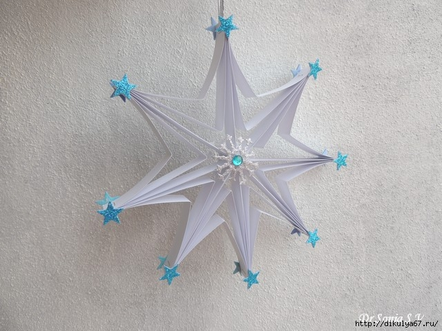 САМОДЕЛКИ. Звезда из бумаги