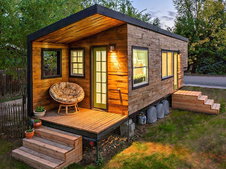 6. Домик в Айдахо  вместительность, дом, размер