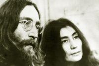 Джон Ленон и Йоко Оно, 1969 год.