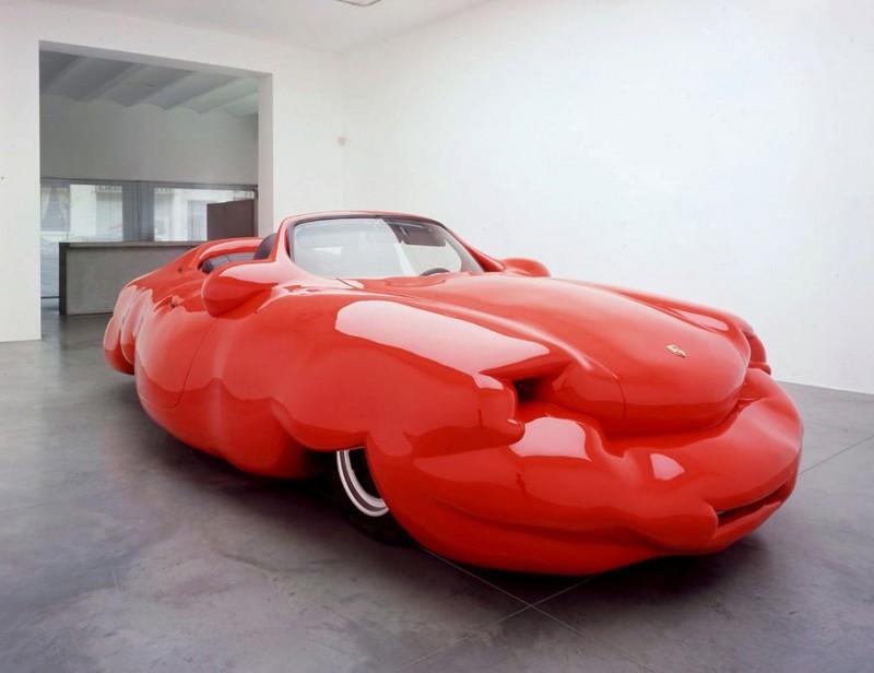 13. Жирный автомобиль автомобили, концепт-кары, странности
