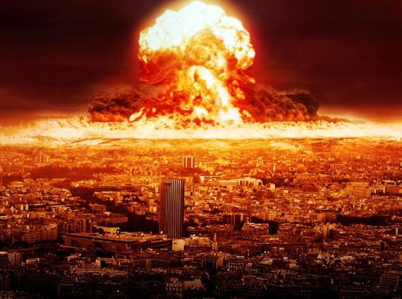 Инопланетяне могут сбросить на землю атомные бомбы нло, марс, инопланетяне, атомные