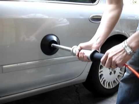 Выправляйте вмятины вантузом авто, интересно, полезные вещи