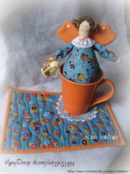 Чайные феечки от SILVIA SARTÓRIO. Выкройка.